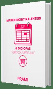 Markkinointikalenteri ja digiopas verkkokauppiaalle