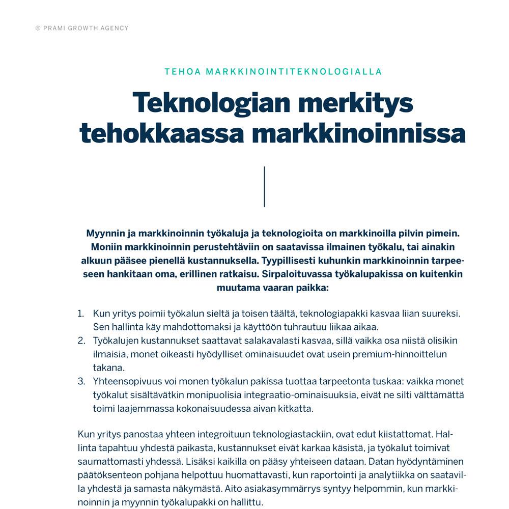 Teknologian merkitys tehokkaassa markkinoinnissa